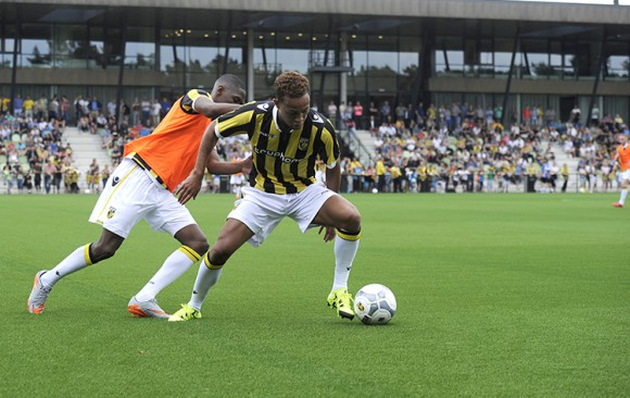 First training Dutch Premier League team Vitesse on GreenFields MX