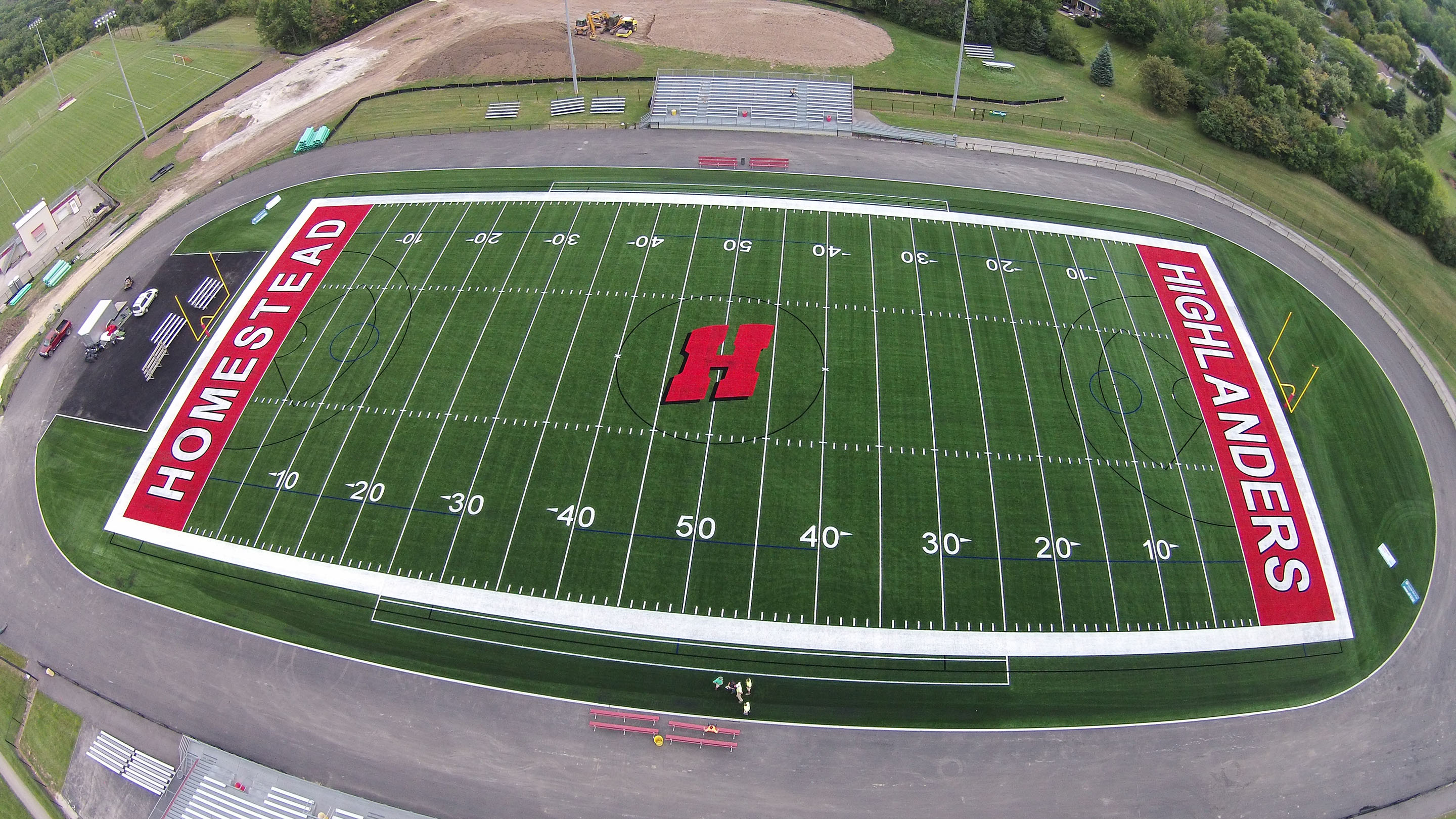 lacrosse field construction and lacrosse turf by greenfields