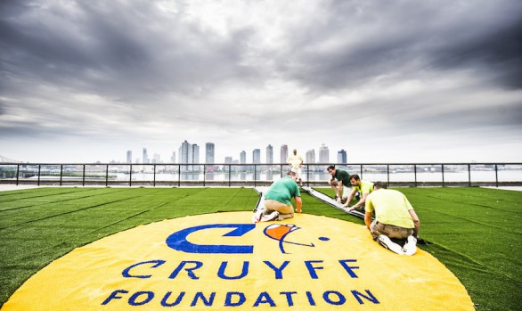 Cruyff Court at UN head office, New York City