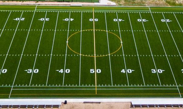 artificial football turf. Atlas Prep School Artificial Football Turf